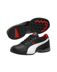 PUMA | Black Cell Turin Sneakers for Men | Lyst