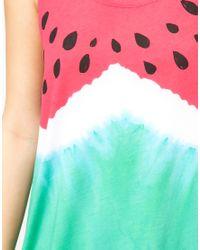 ASOS Collection - Multicolor Asos Vest in Watermelon Print - Lyst