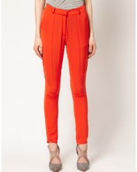 Surface To Air - Orange Surface To Air Kim Trousers - Lyst
