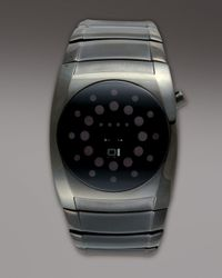 01 The One Watches   Gray Lightmare Binary Watch for Men   Lyst