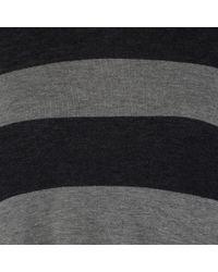Aspesi | Green Cotton Blend Striped Sun Dress | Lyst