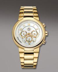 Philip Stein | Metallic Gold Active Chronograph Watch On Gold Bracelet for Men | Lyst