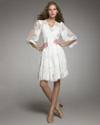 Stella McCartney | White Cutwork Dress | Lyst