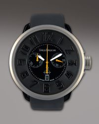 Tendence - Black 50mm Swiss Chronograph Watch for Men - Lyst