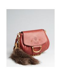 Gucci | Red Burgundy Leather Smilla Small Crossbody Bag | Lyst