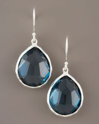 Ippolita | Blue Topaz Teardrop Earrings | Lyst