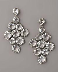 Ippolita | Metallic Quartz & Diamond Cascade Earrings | Lyst
