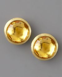 Marco Bicego | Orange Jaipur Citrine Stud Earrings | Lyst