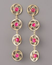 Paolo Costagli | Multicolor Contarini Ruby Earrings | Lyst