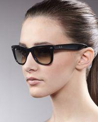 Ray-Ban - Yellow Standard 50mm Folding Wayfarer Sunglasses - Lyst