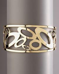 Roberto Coin | Metallic Chic & Shine Cuff Bracelet | Lyst