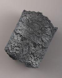 Aurelie Bidermann - Black Lace Cuff, Oxidized Silver - Lyst