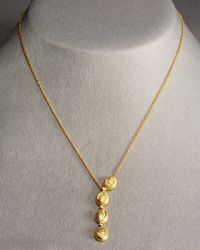 Coomi | Metallic Eternity Oval Necklace | Lyst