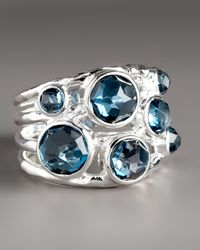 Ippolita | London Blue Topaz Ring | Lyst