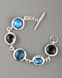 Ippolita | Blue Stone-link Bracelet, Large | Lyst