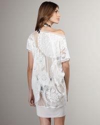 Jean Paul Gaultier - White Crochet Coverup - Lyst