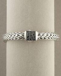 John Hardy | Metallic Sapphire Bracelet | Lyst