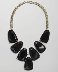 Kendra Scott | Harlow Necklace, Black Onyx | Lyst