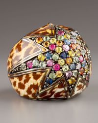 M.c.l  Matthew Campbell Laurenza | Multicolor Starstruck Leopard Sapphire Ring | Lyst