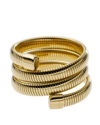 Michael Kors - Metallic Snake Wrap Bracelet - Lyst