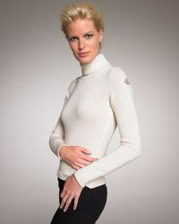 Moncler - White Wool-cashmere Turtleneck, Ivory - Lyst