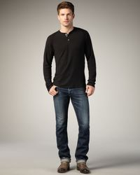 Bliss and Mischief - Blue Nichols Slim Selvedge Jeans for Men - Lyst