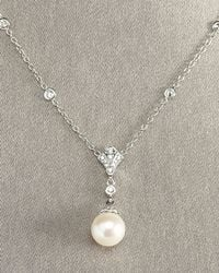 Penny Preville   Metallic Pearl Pendant Necklace   Lyst