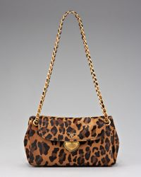 Prada | Multicolor Cavallino Leopard-print Hair Calf Chain Bag | Lyst