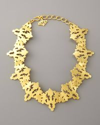 Sachin & Babi - Metallic Rorschach Collar Necklace - Lyst