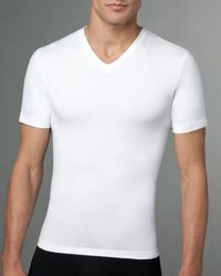 Spanx | White Cotton Compression Tee/v-neck for Men | Lyst