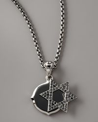 Stephen Webster | Metallic Star Of David Double Pendant Necklace | Lyst