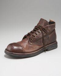 True Religion - Brown Zola Cap-toe Boot for Men - Lyst