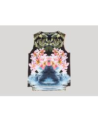 Stella McCartney | Multicolor Multicolour Spaced Hawaiian Print Top | Lyst