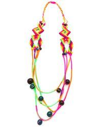Sequence - Multicolor Bone Necklace - Lyst