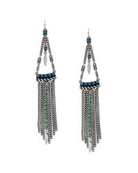Jessica Simpson | Blue South Pacific Turquoise Chandelier Earrings | Lyst