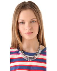 Marc By Marc Jacobs - Metallic Cubes Necklace - Lyst