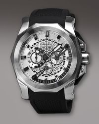 Orefici Watches - Black Gladiatore Chronograph Watch for Men - Lyst