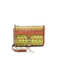 Rebecca Minkoff | Brown Woven Leather Mac Bag | Lyst