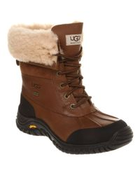 UGG | Brown Adirondack Lace Up Boot Otter Leather | Lyst