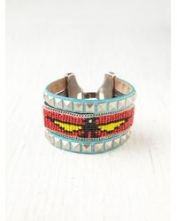 Free People | Metallic Beaded Friendship Bracelet | Lyst