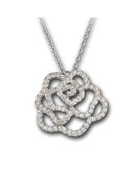 Swarovski - Metallic Hortense Pendant - Lyst