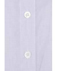 Boy by Band of Outsiders | Purple Easy Checked Cottonpoplin Shirt | Lyst