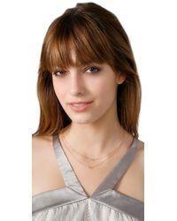 Gorjana | Metallic Double Rope Necklace | Lyst