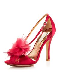 Badgley Mischka | Red Kiwi - Raspberry | Lyst