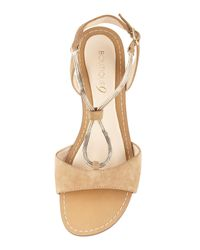 Boutique 9 - Pernilla Chainleather Sandal Natural - Lyst
