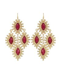Kendra Scott | Metallic Febe Chandelier Earrings | Lyst