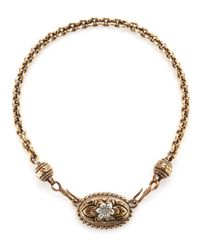 Stephen Dweck | Metallic Doublehook Flower Necklace | Lyst