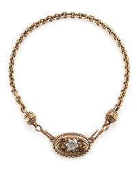 Stephen Dweck - Metallic Doublehook Flower Necklace - Lyst