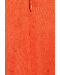 By Malene Birger - Orange Lupa Twill Dress - Lyst