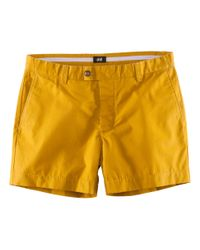 H&M | Yellow Shorts for Men | Lyst